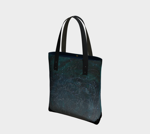 Uncommon Constellations Elegant Lined Handbag