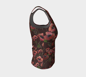 Poppies Fitted Tank (Regular)