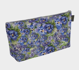 Spring Flowers Cosmetics Bag