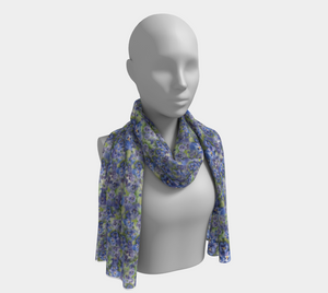 Spring Flowers Long Scarf