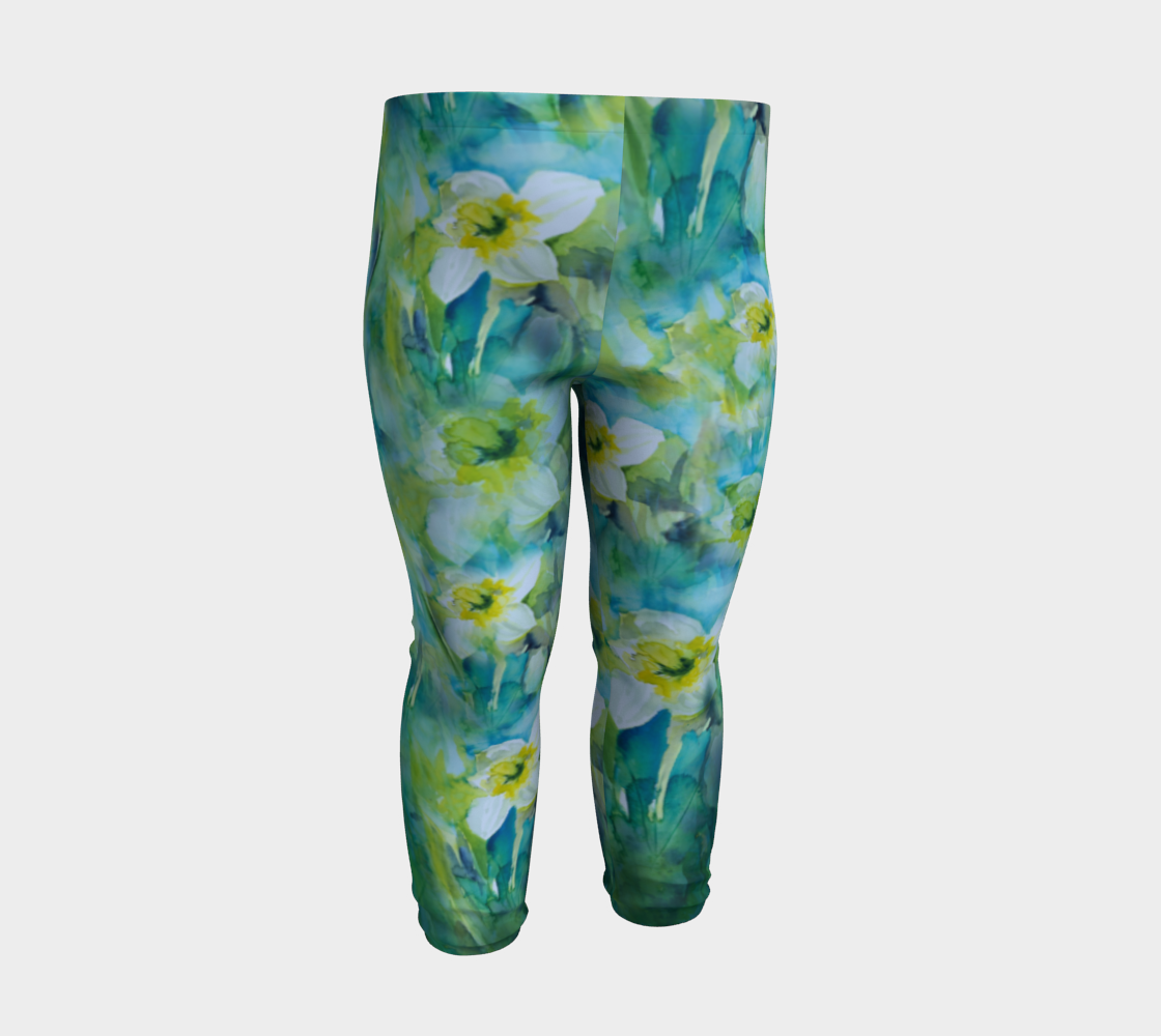 Baby/Child Leggings Daffodils (6 months - 3 years)