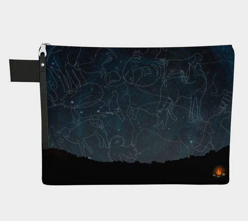 Uncommon Constellations Zipper Carry-all
