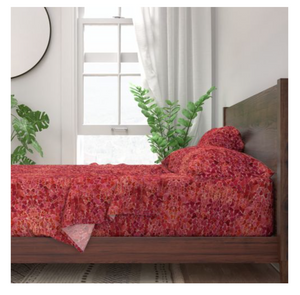 Heart Fiesta Sateen Sheet Set