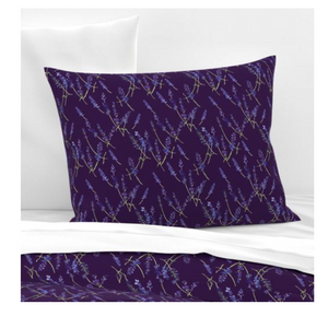 Pillow Sham - Fresh Lavender