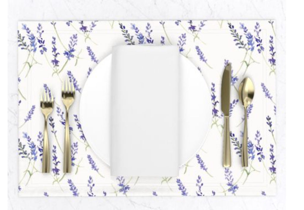 Fresh Lavender Placemats