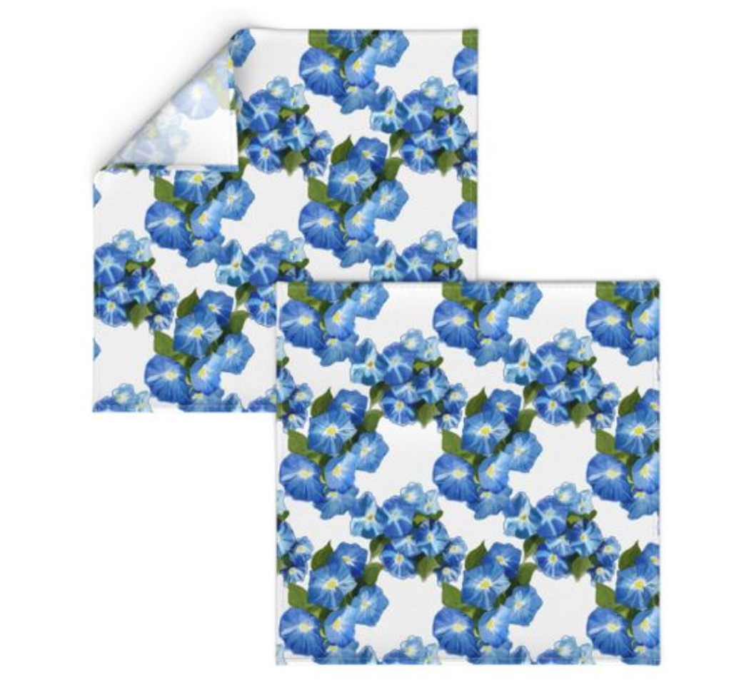 Morning Glories Napkins