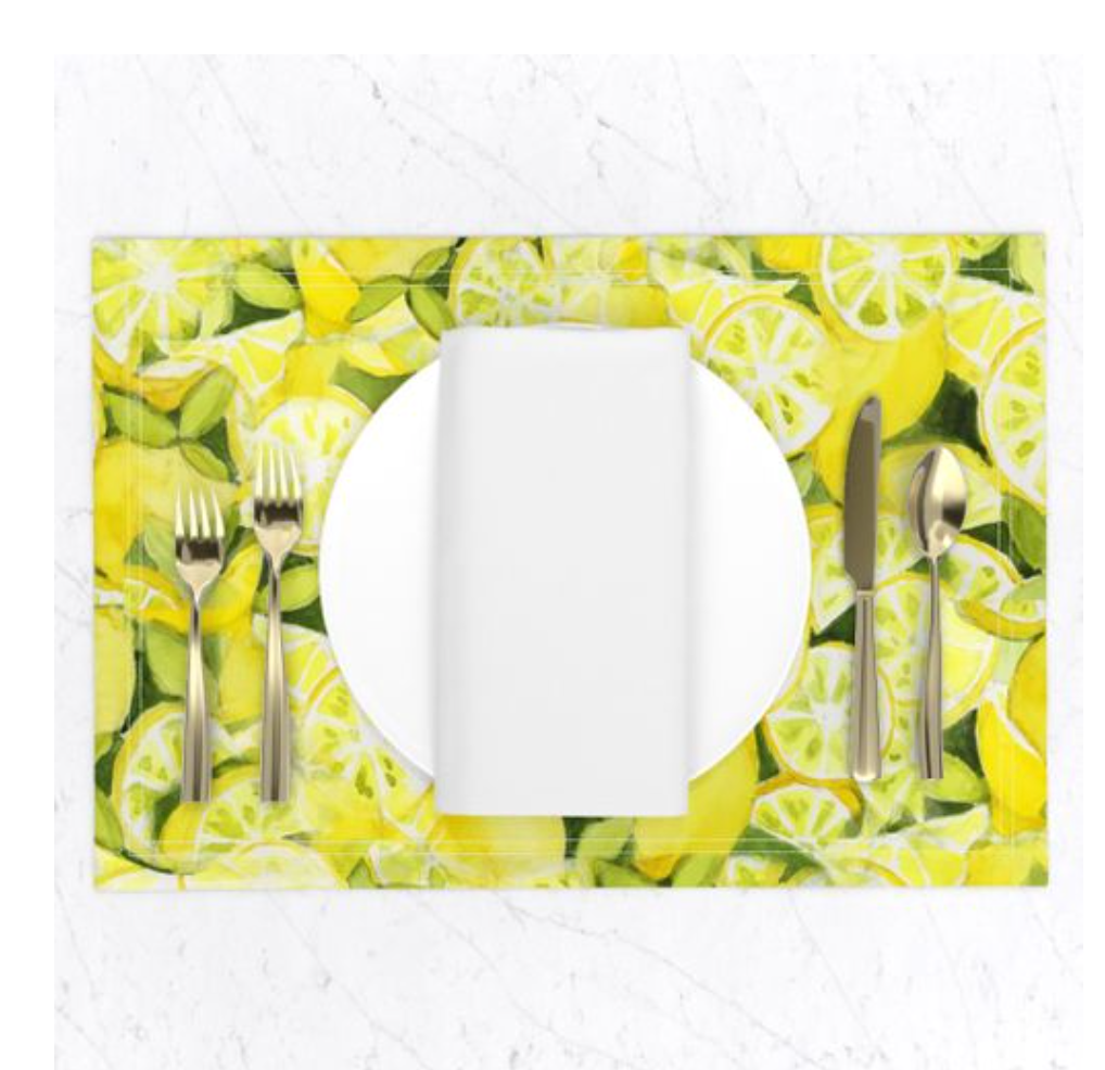Lemons to Lemonade Placemats