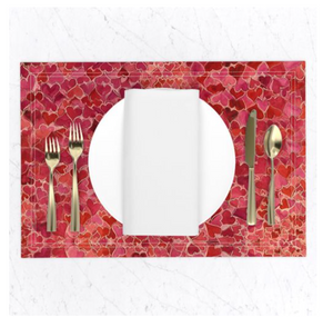 Hearts and Valentines Placemats
