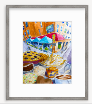 Framed Print: Hi-Rise Bread, Cambridge, MA
