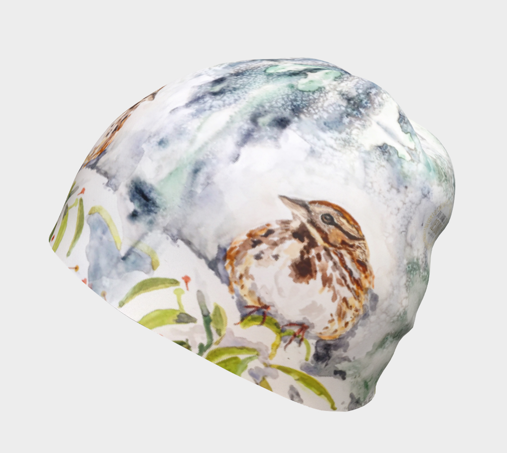 Song Sparrow Beanie