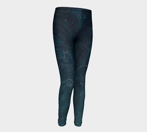 Uncommon Constellations Kids' Leggings (ages 4 - 12 years)