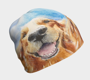 Golden Retriever Beanie Hat (Hobbes)