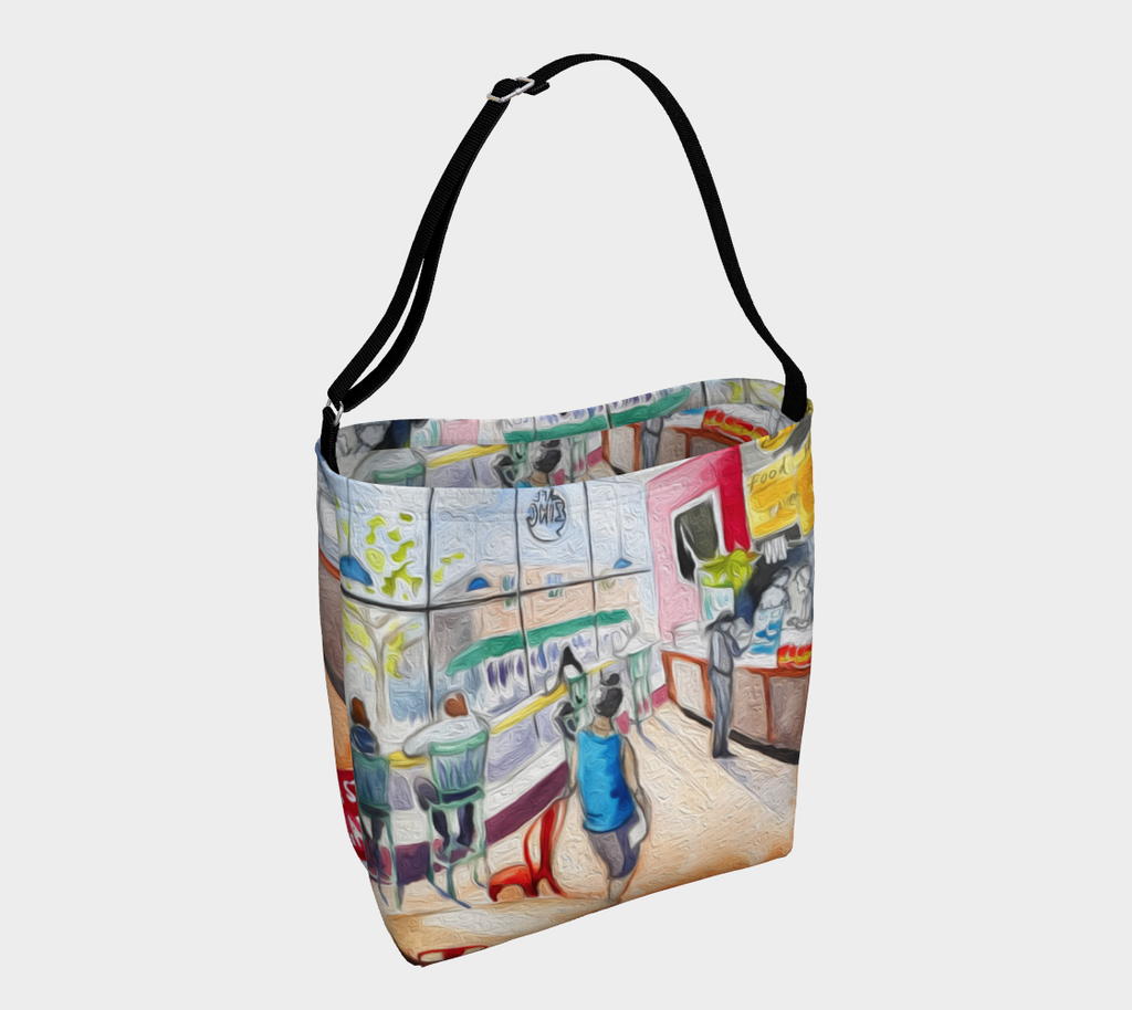 Cafe Zing Porter Square Books Tote