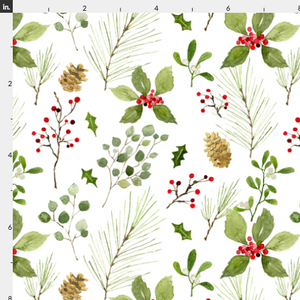 Christmas Foliage Wallpaper