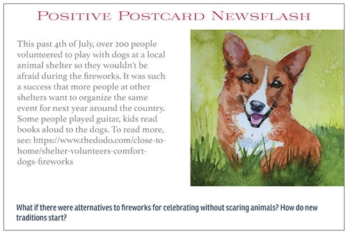 Positive Postcards (assorted pack of 10)