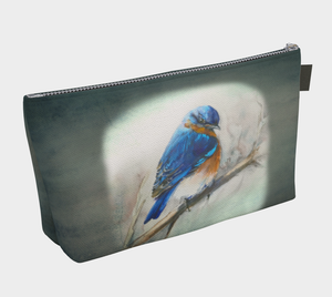 Bluebird of Happiness Cosmetics Bag/Clutch