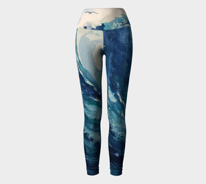 The Wave Yoga Leggings