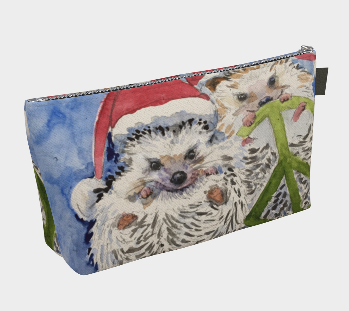 Hedgehogs for Peace Clutch