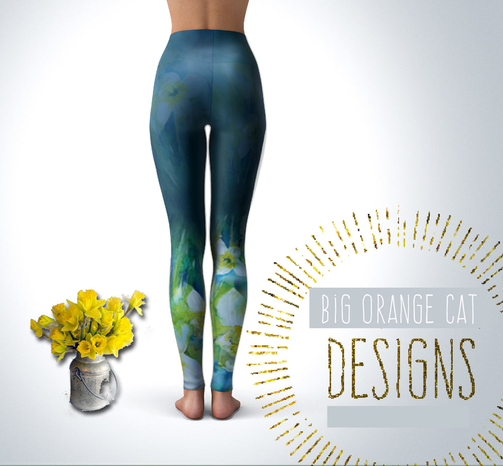 Daffodil Yoga Leggings