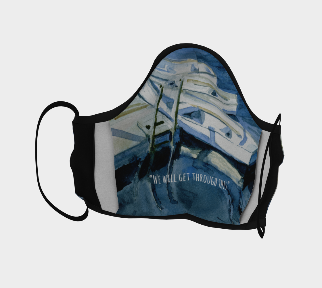 Set Sail Face Mask with Inside Filter Pocket and Nose Wire