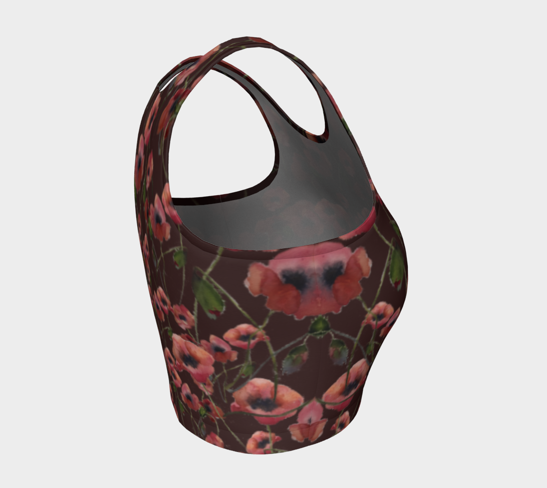 Poppies Crop Top