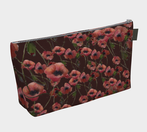 Poppies Cosmetics Bag/Clutch