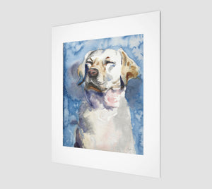 Dog Dreams Art Print Edition of 50