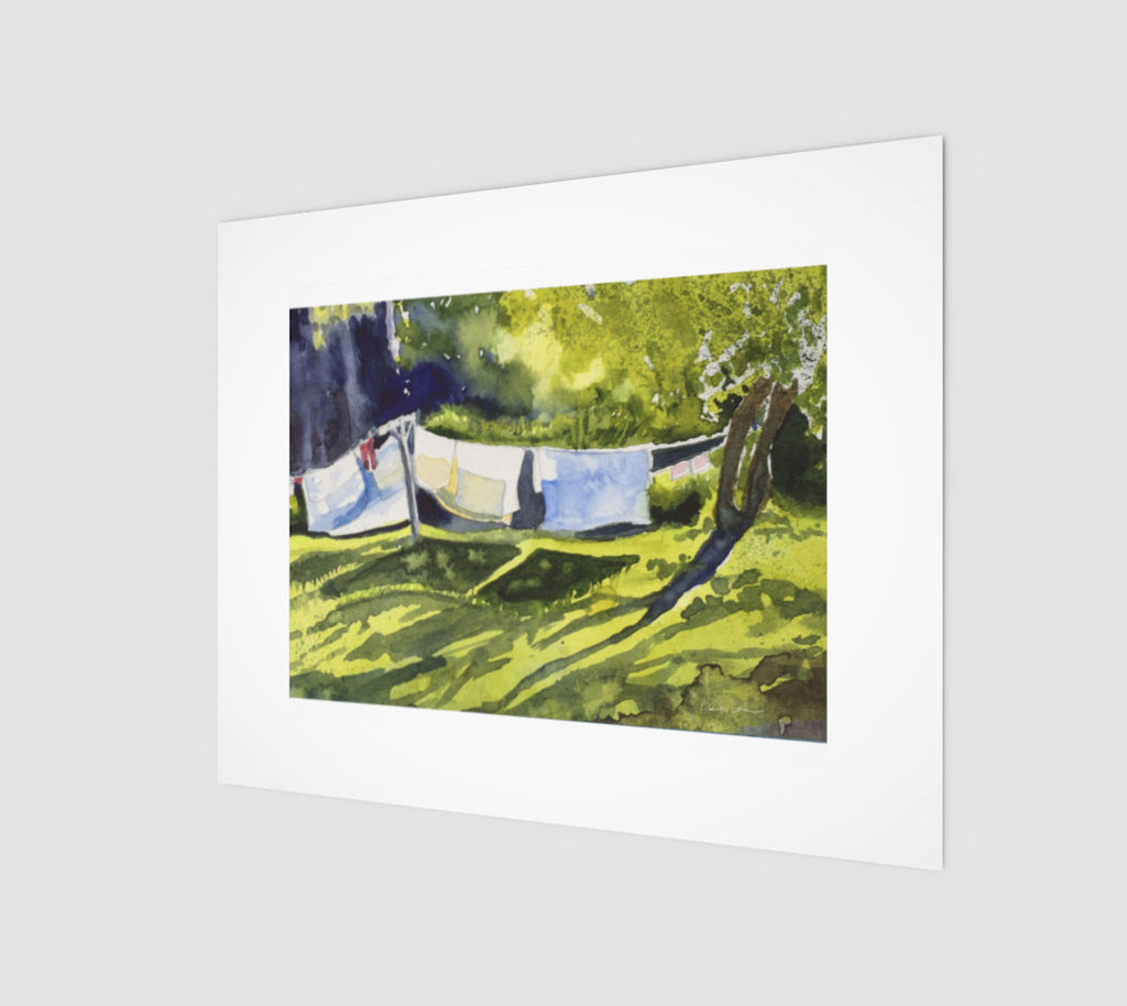 HBC Slow Laundry Art Print 8x10 Edition of 50