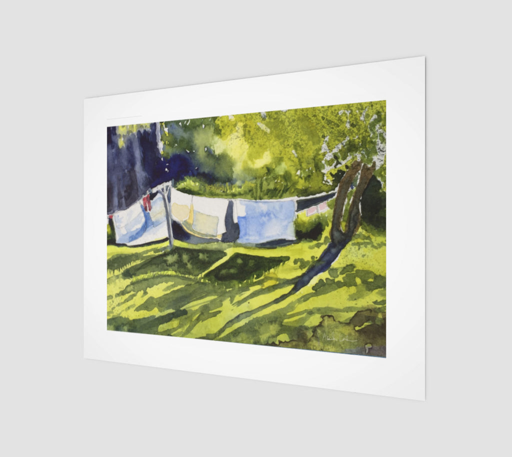 HBC Slow Laundry Art Print 11x14 Edition of 50