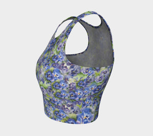 Spring Flowers Crop Top