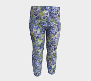 Baby/Child Leggings Spring Flowers (6 months thru 3 years)