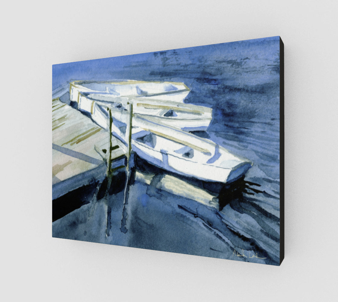 HBC High Tide 11x14 Gallery Wrapped Canvas