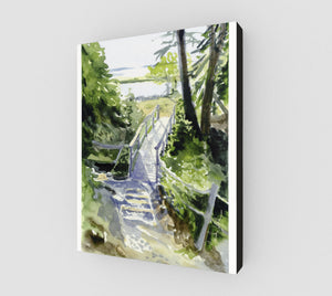 HBC The Old Footbridge Gallery Wrapped Canvas