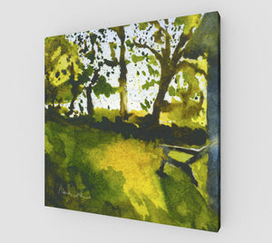 Sunrise Over the Cove Gallery Wrapped Canvas