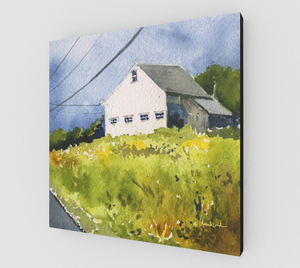 The Goldenrod Leads the Way Gallery Wrapped Canvas