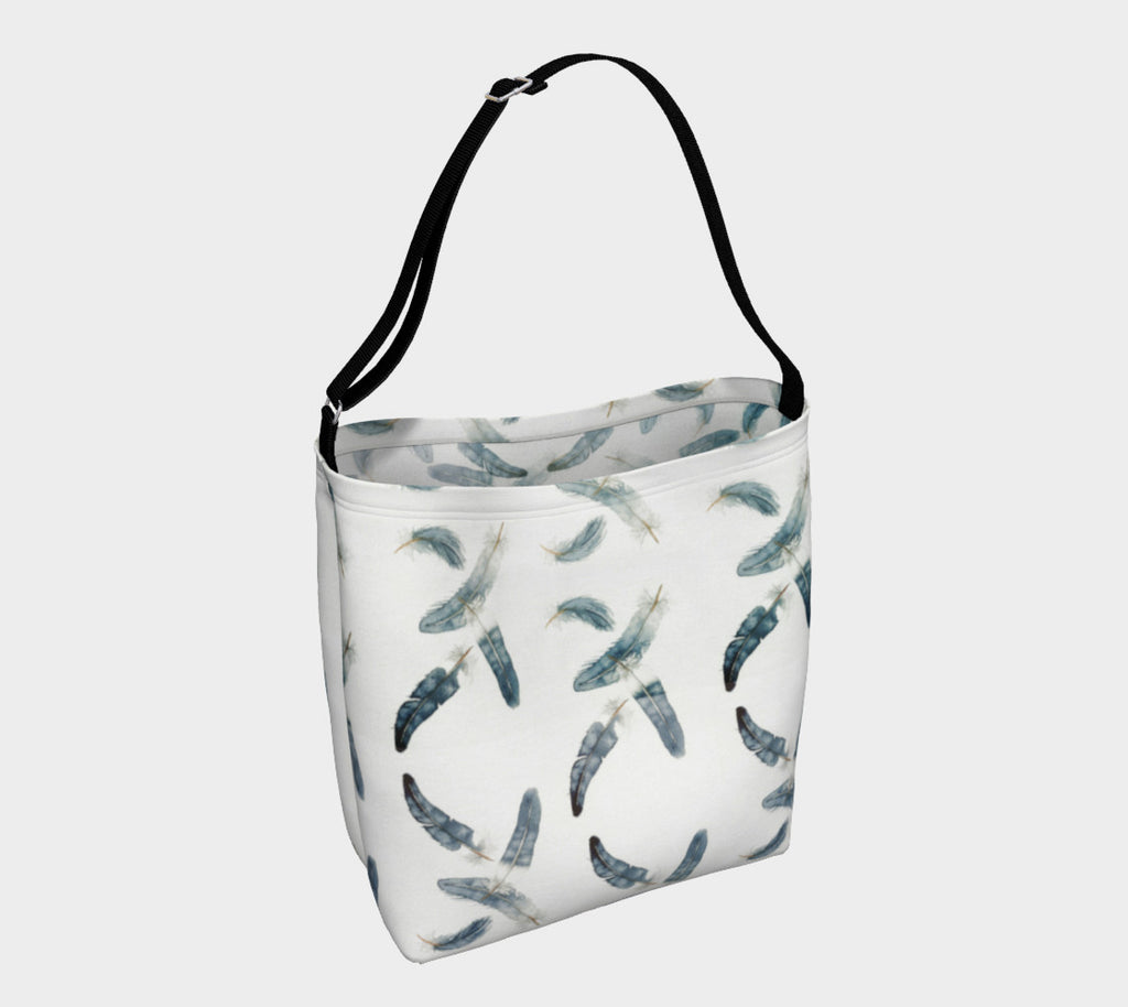 Feathers Soft Stretchy Neoprene Tote