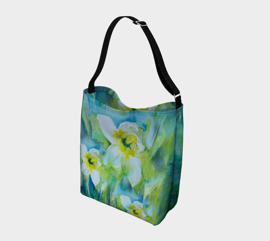 Spring Daffodils Soft Stretchy Neoprene Tote