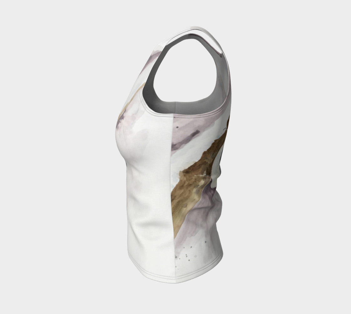 Nuthatch Fitted Tank Top (Regular)
