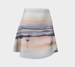 Moonrise Over the Cove Skirt