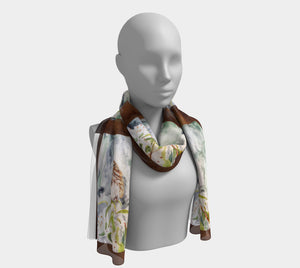 Song Sparrow Long Scarf