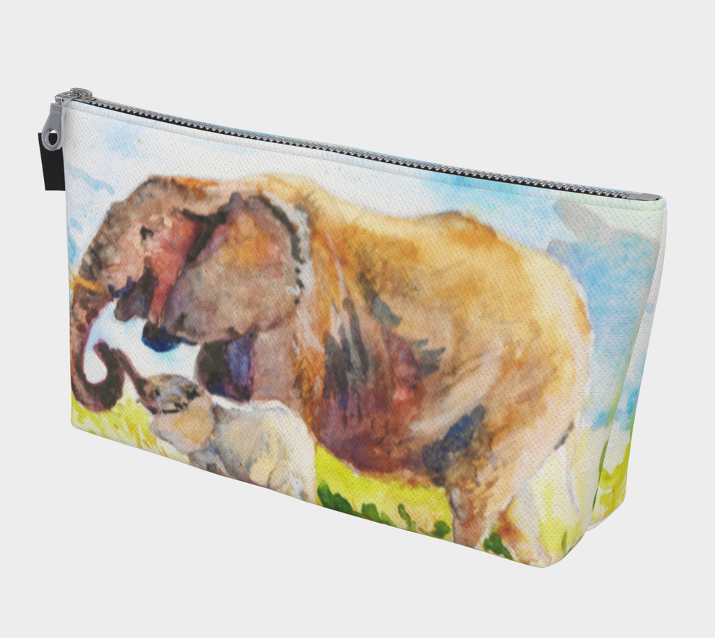 Elephant Love Cosmetics Bag/Clutch