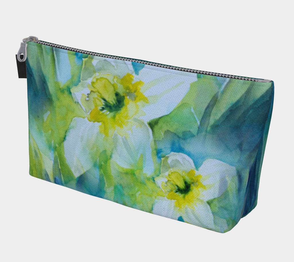 Spring Daffodils Cosmetics Bag/Clutch