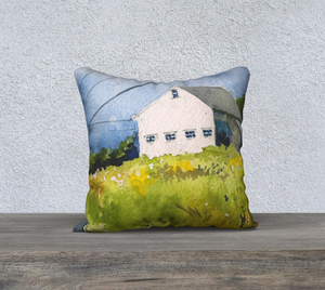 "The Goldenrod Lights the Way 18""x18"" Pillow Cover"