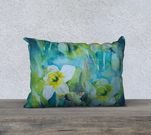 Daffodil Pillow Cover 20x14