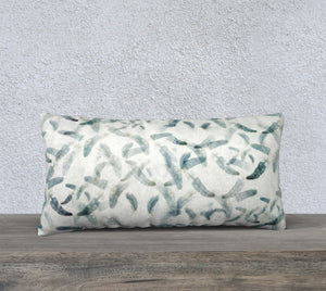 "Feathers 24""x12"" Pillow Cover"