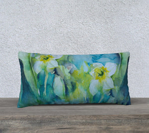 Daffodil Pillow Cover 24x12