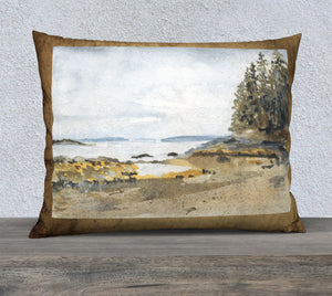 "Pebble Beach 26""x20"" pillow case"