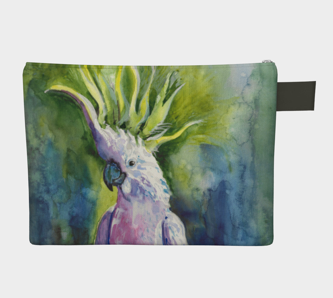 Cockatoo Clutch Carryall #2