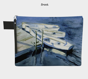 High Summer at the Dock Clutch Carryall