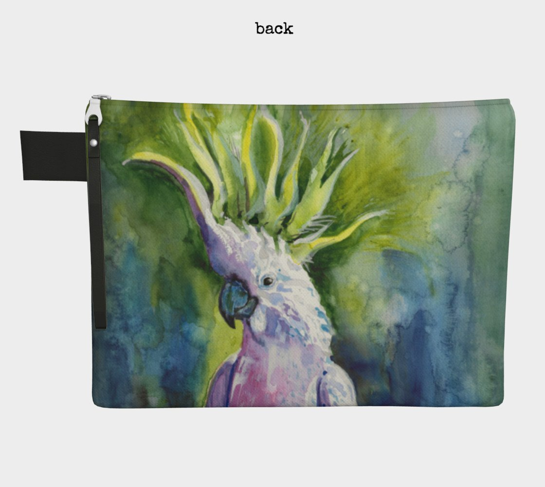 Cockatoo Clutch Carryall